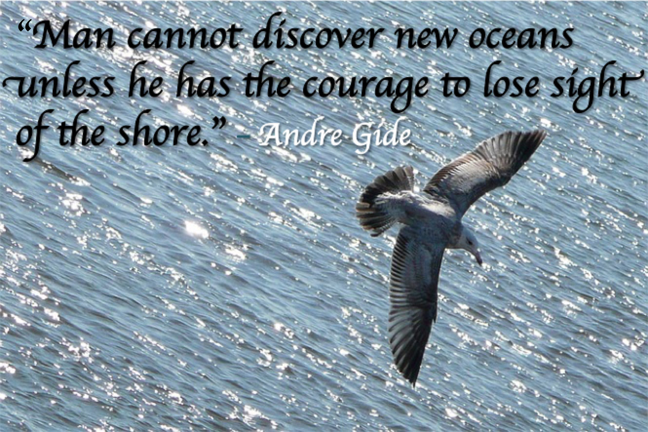 quote courage gide