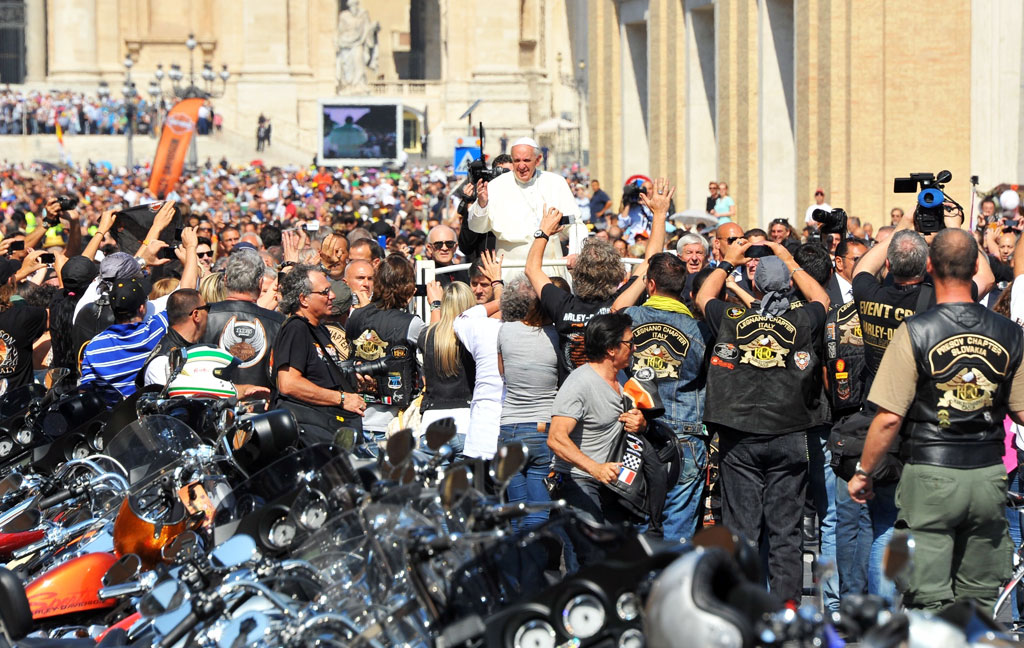 Pope Francis Harley