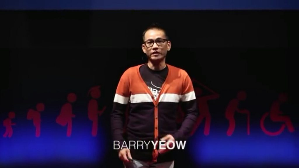 Mr. Barry Yeow at TEDx Talks